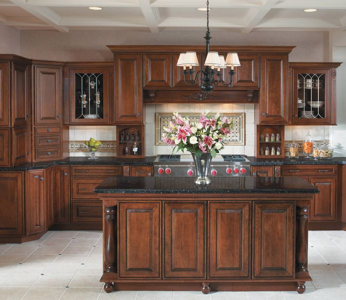 Natural Wood Kitchen Designs: Signature Cabinets